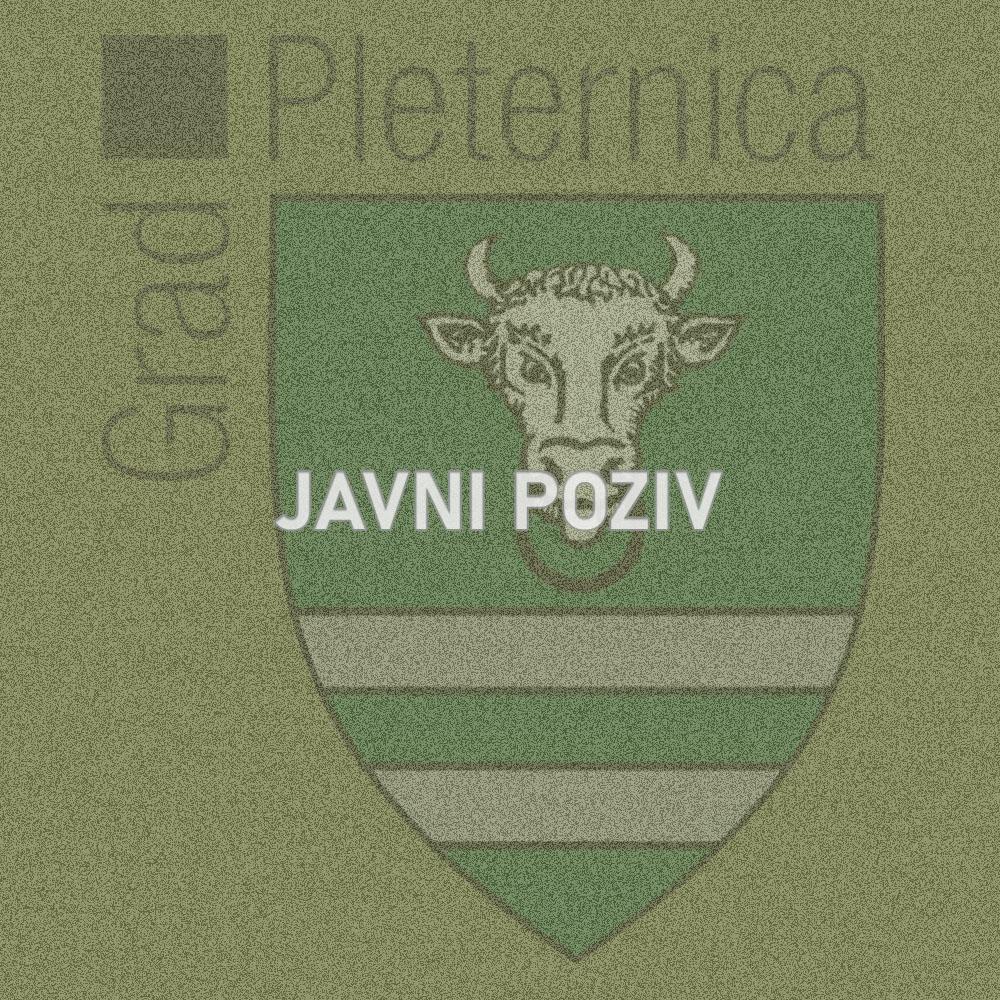 Ponovljeni javni poziv za (su)financiranje programa/projekata javnih potreba u sportu na području Grada Pleternice za 2020. godinu