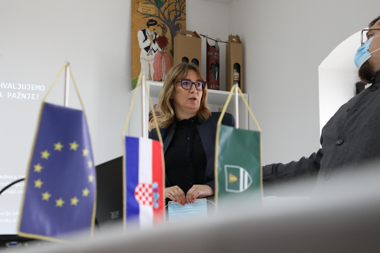 """Jozić: """"Mali dom kulture je čvrst dokaz kako europski fondovi mogu živjeti i u malim sredinama"""""""