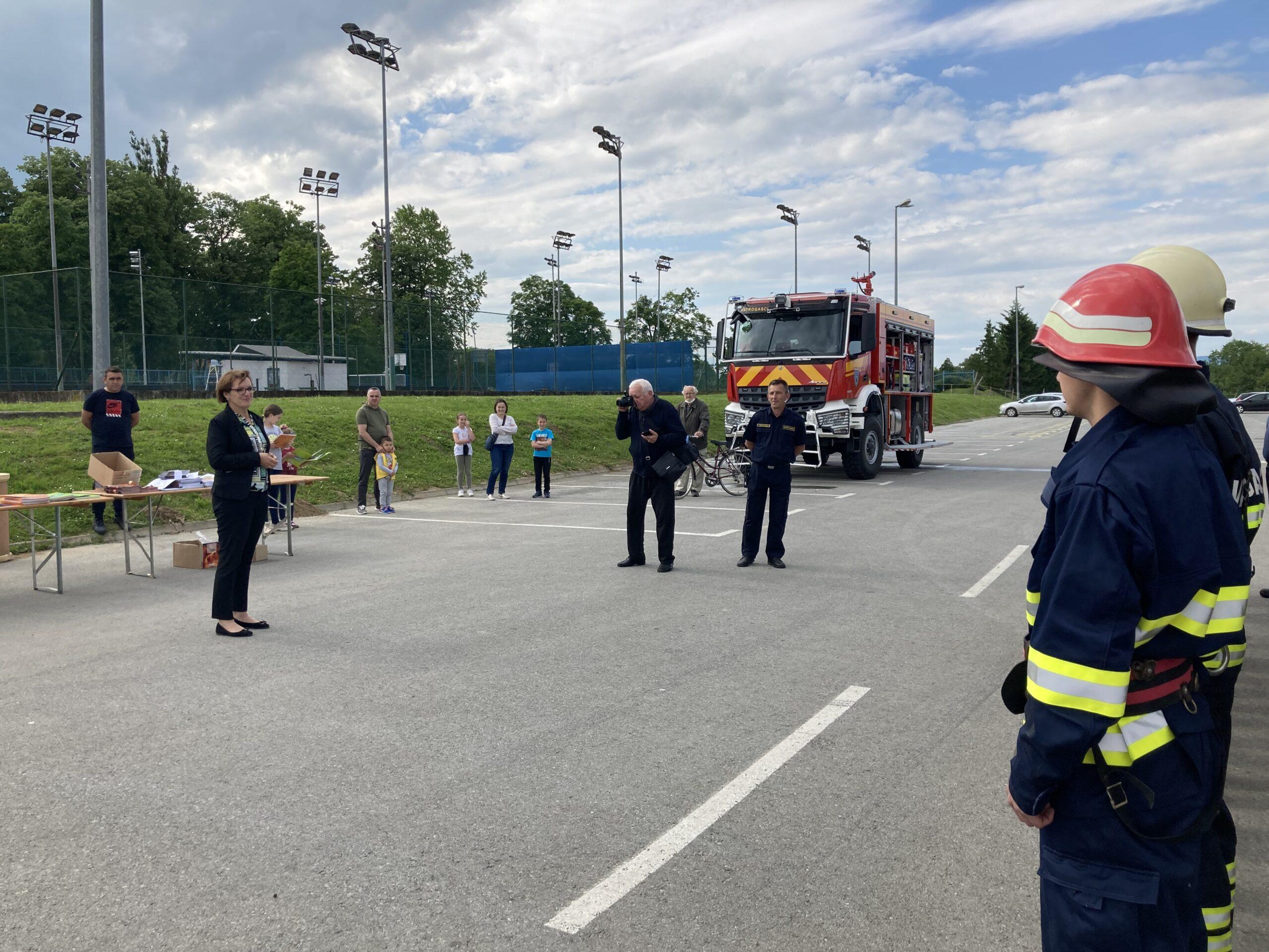 """Gradonačelnica zahvalila vatrogascima: """"Divim vam se i bit ćemo tu i dalje uz vas"""""""
