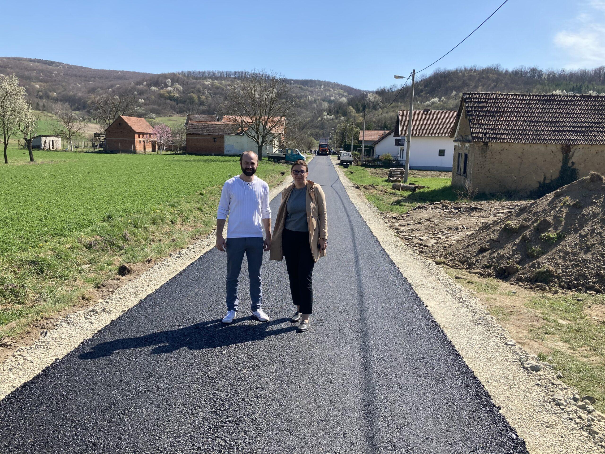 Novi asfalt za bučke gospodarstvenike